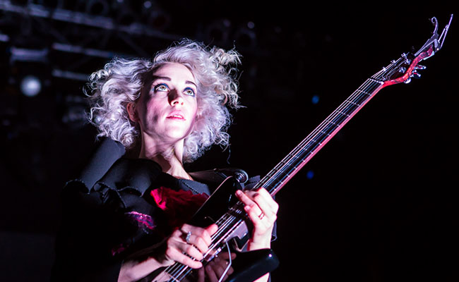 The brilliant St. Vincent. Source: http://bit.ly/1Bc8zsC.