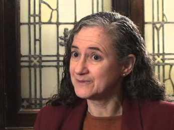 Ann Braude in a 2014 interview. Source: http://bit.ly/1Ehp99T.