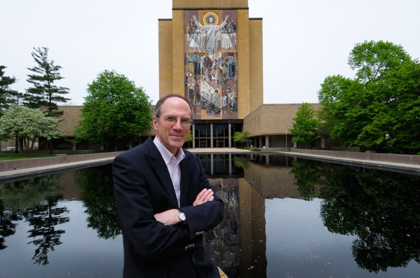 Photo of Mark Noll taken at Notre Dame University. Source: http://bit.ly/1S7jIoC.