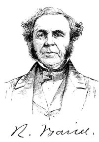 Robert Baird, the founder of the study of American religion. Source: http://bit.ly/1Fm1mJS.