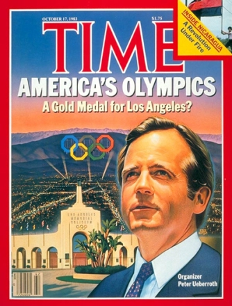 A classic Time magazine cover from the 1984 L.A. Olympics. Source: http://bit.ly/1Tb80w8.